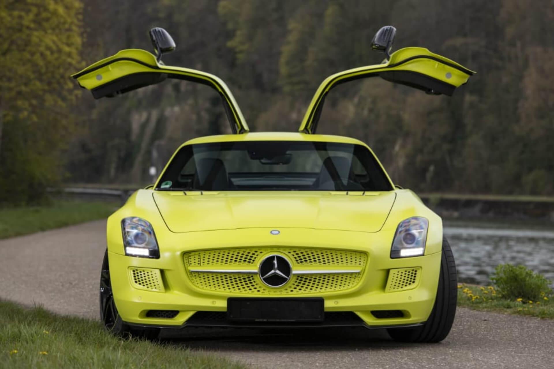 Mercedes Benz Sls Amg Electric Drive 05