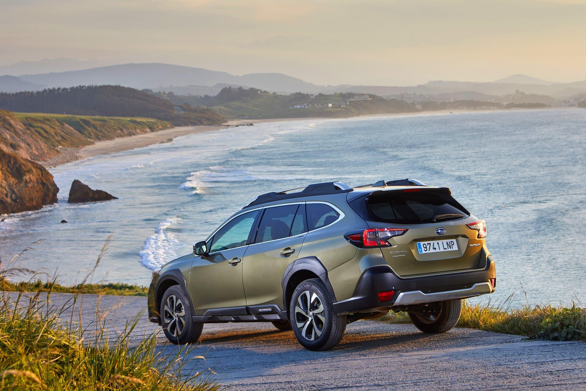 Subaru Outback 2021 Prueba 1