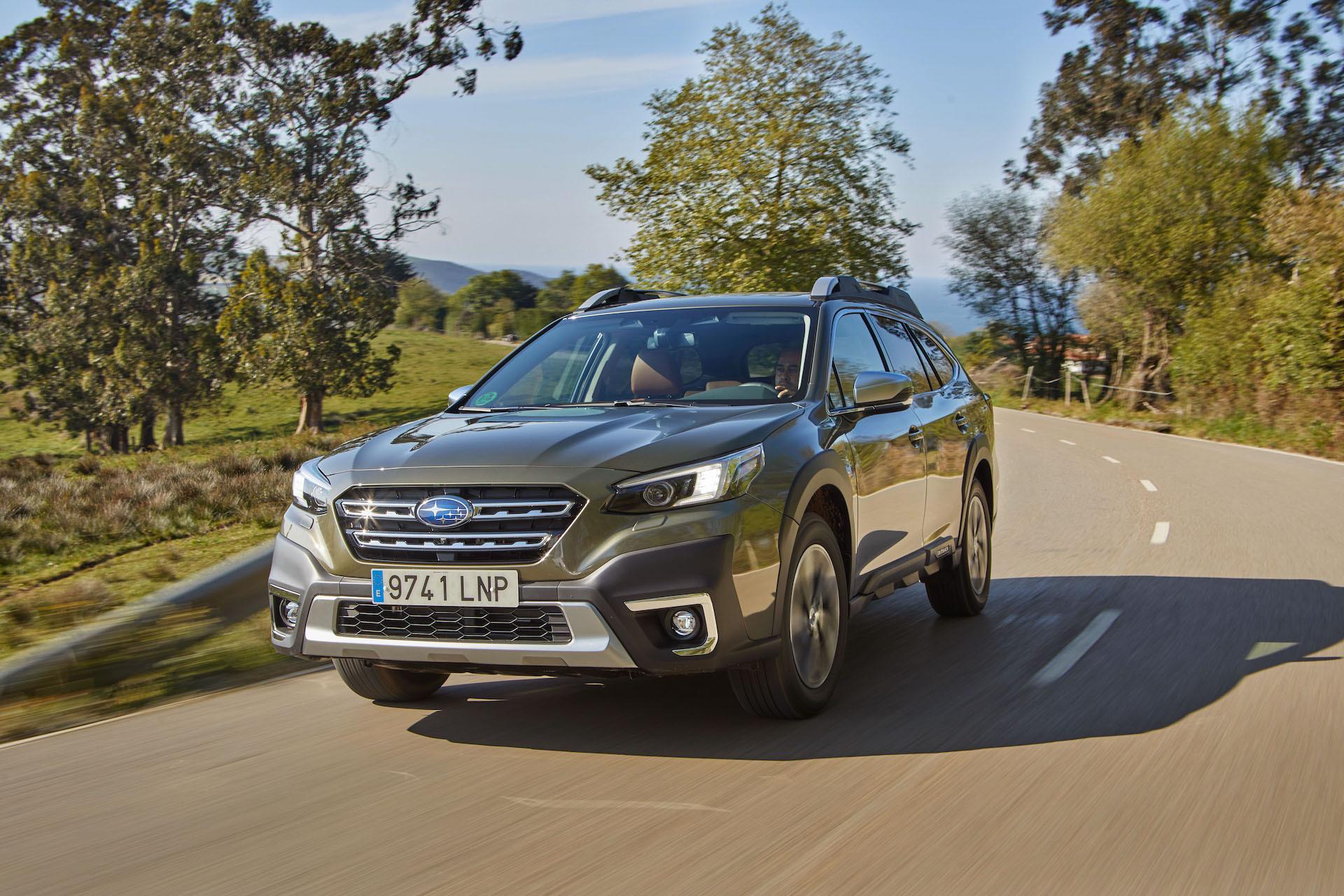Subaru Outback 2021 Prueba 11