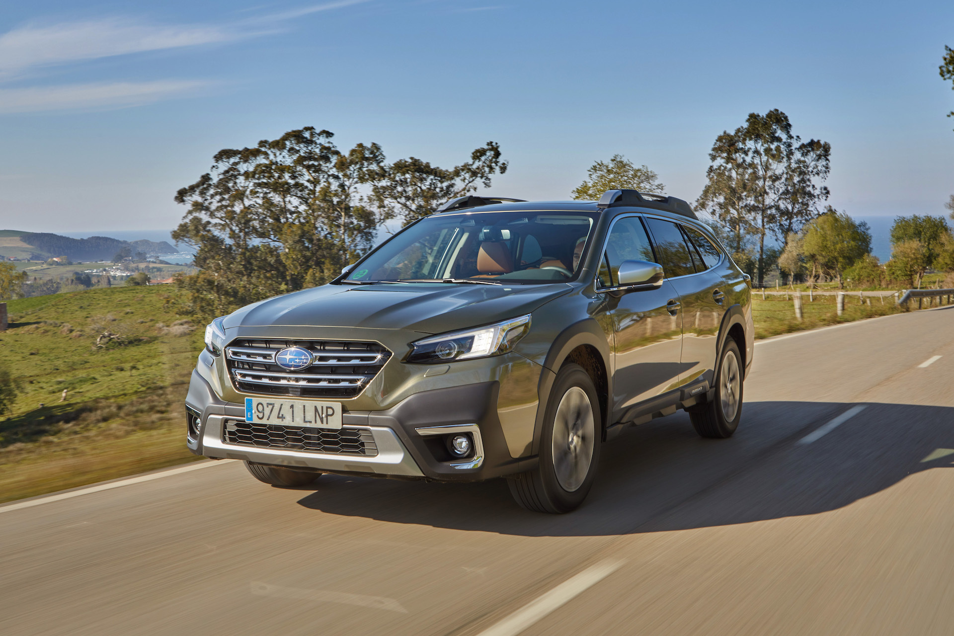 Subaru Outback 2021 Prueba 12