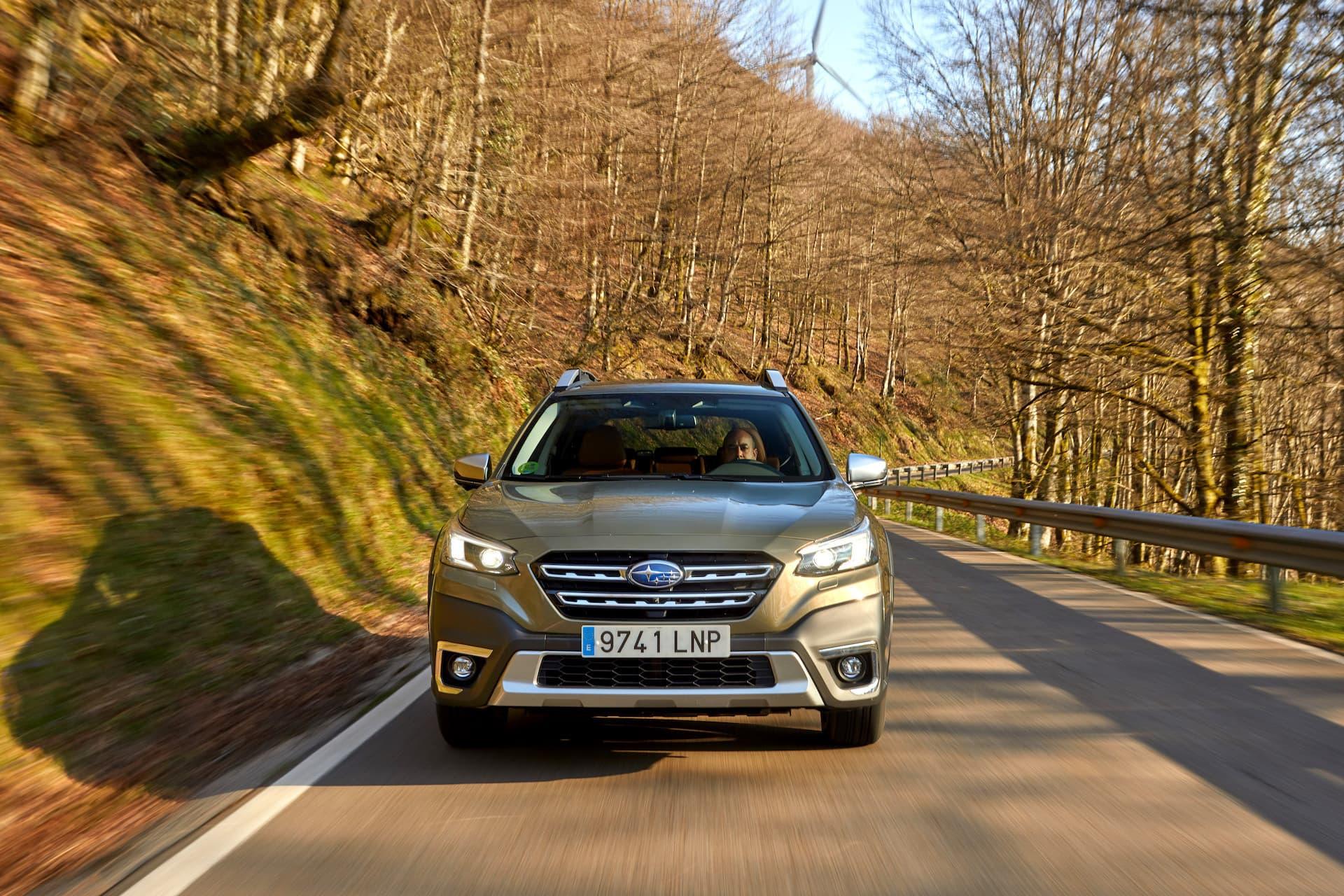 Subaru Outback 2021 Prueba 2