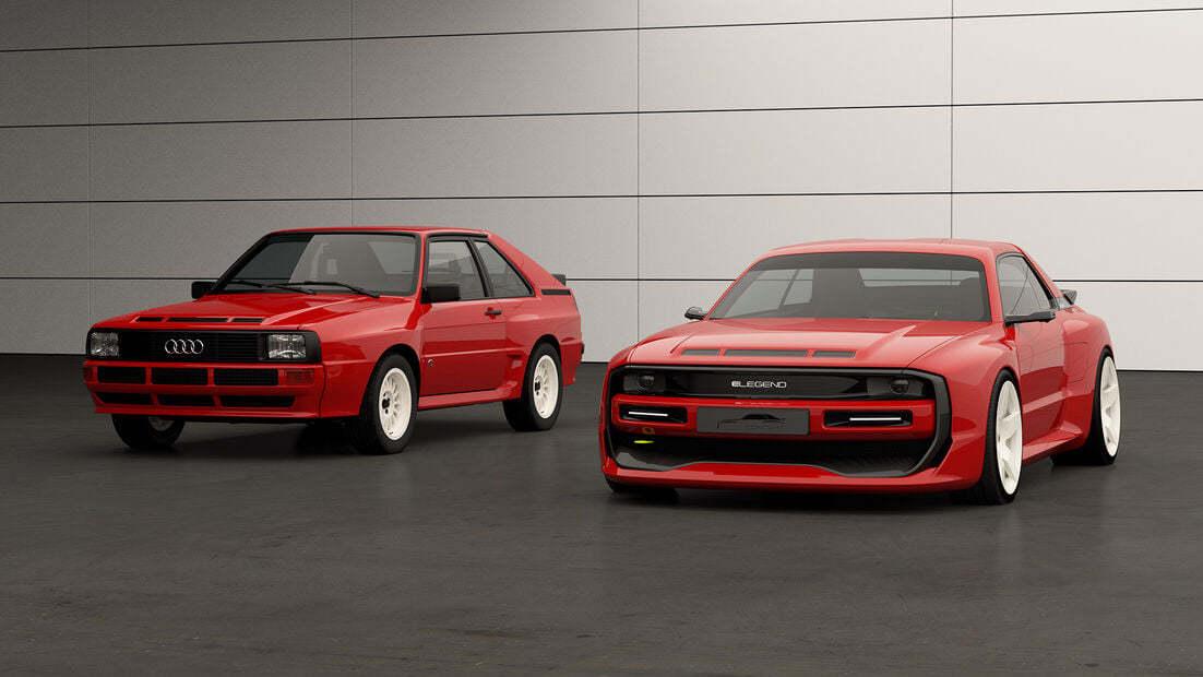 Audi Sport Quattro E Legend El1 1