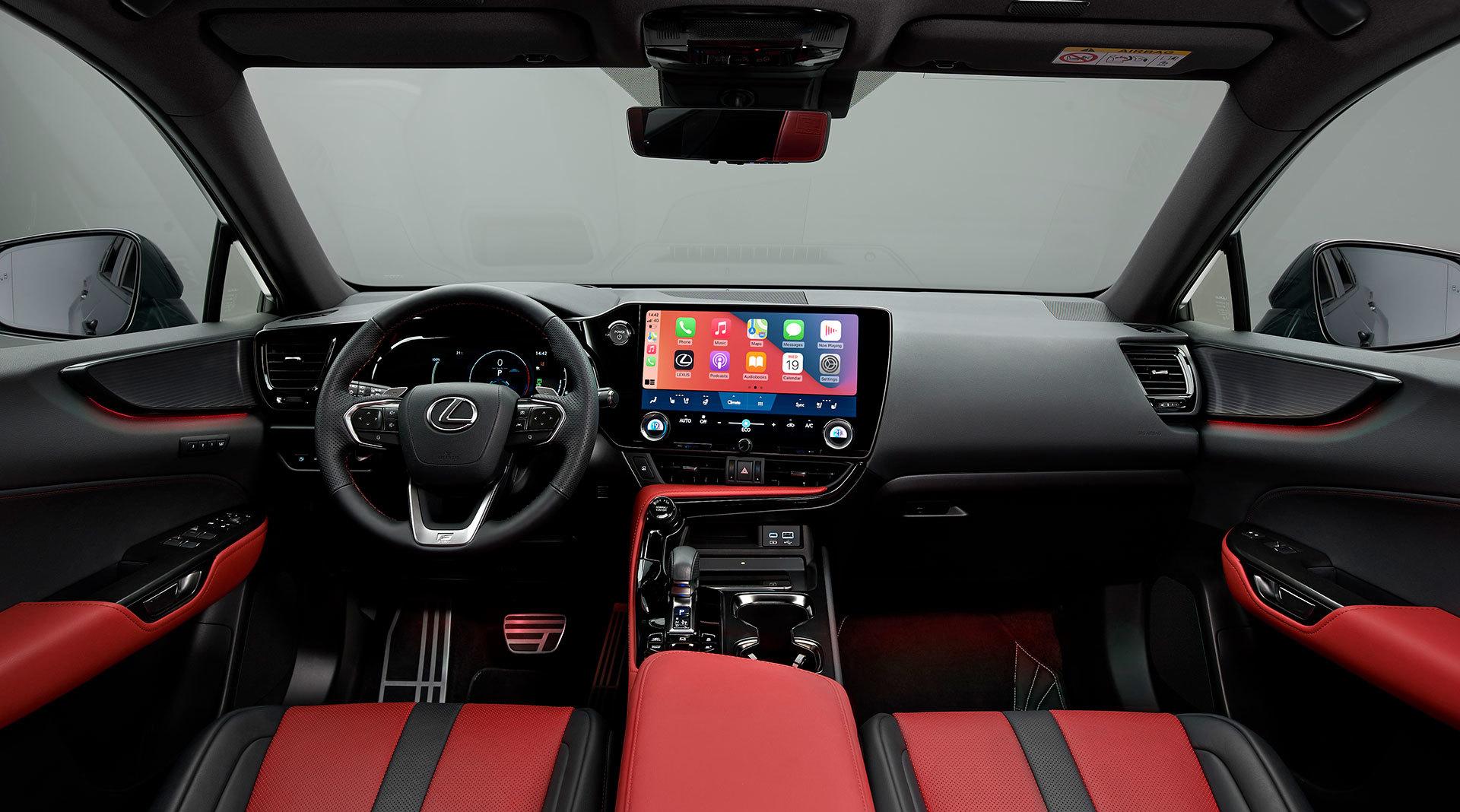 Lexus Nx 450h 2021 Interior 01