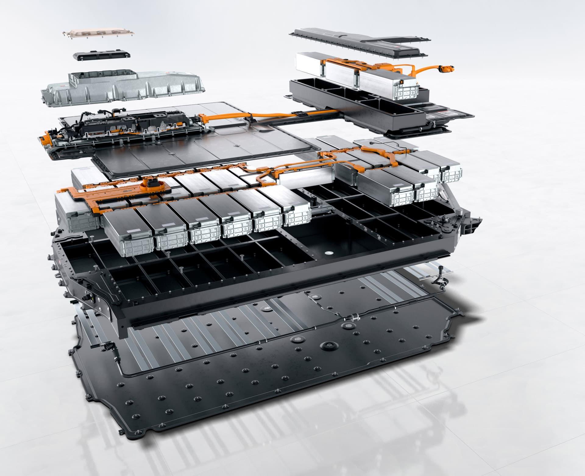 Porsche Taycan Baterias Coche Electrico