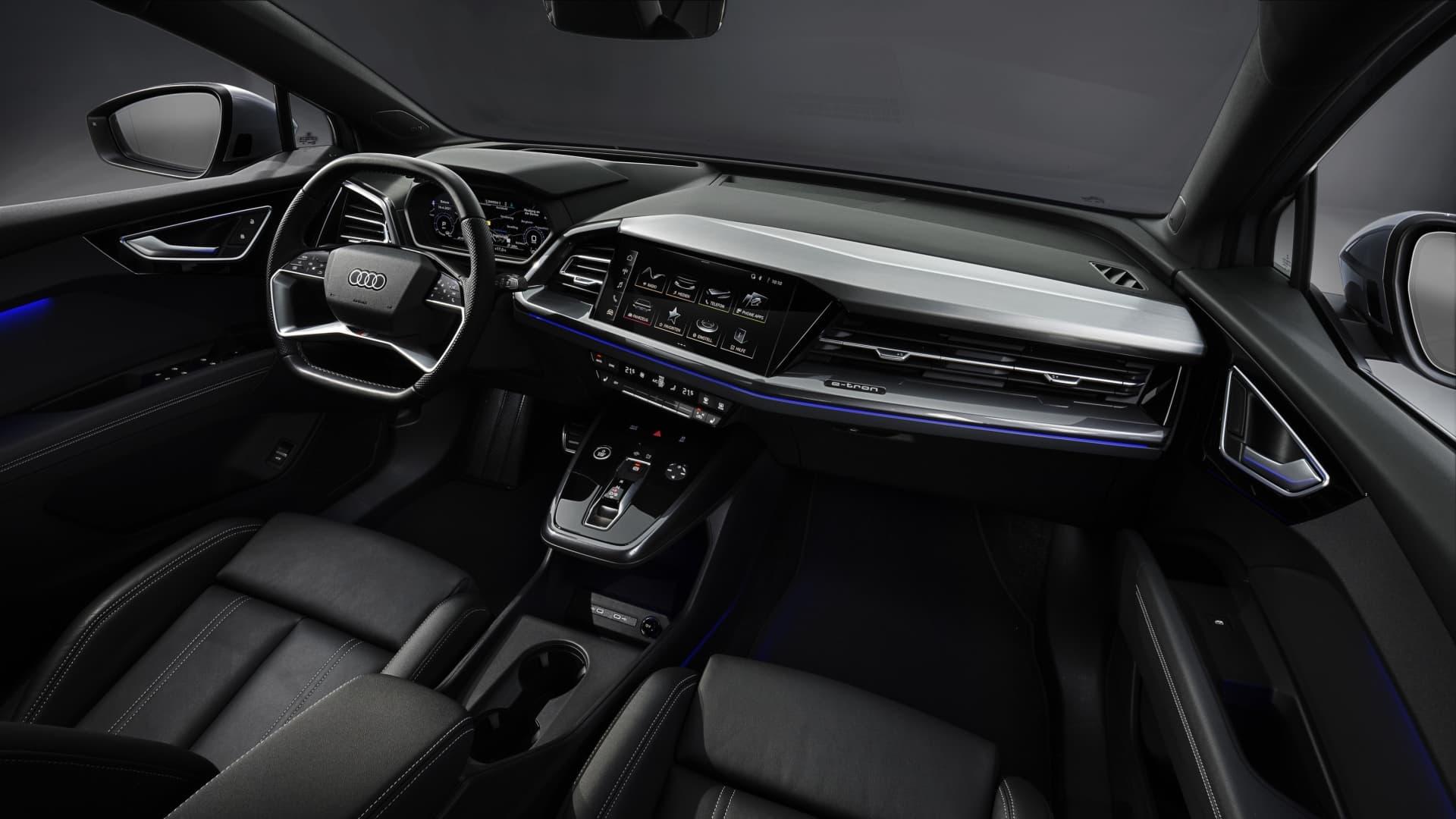 Precios Audi Q4 Sportback E Tron 08 Interior