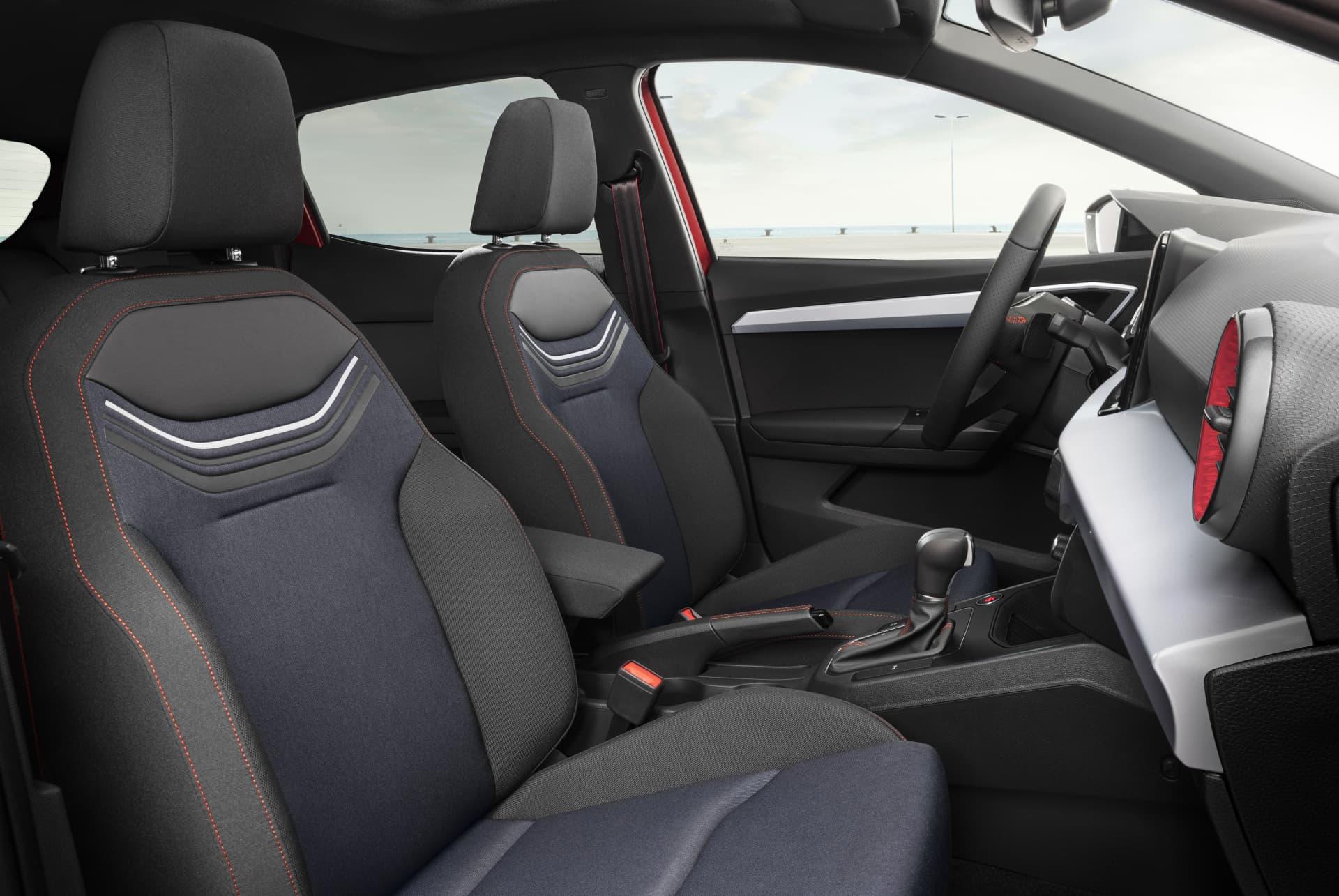 Seat Ibiza 2021 Precios Inteior 01 Asientos Plazas Delanteras