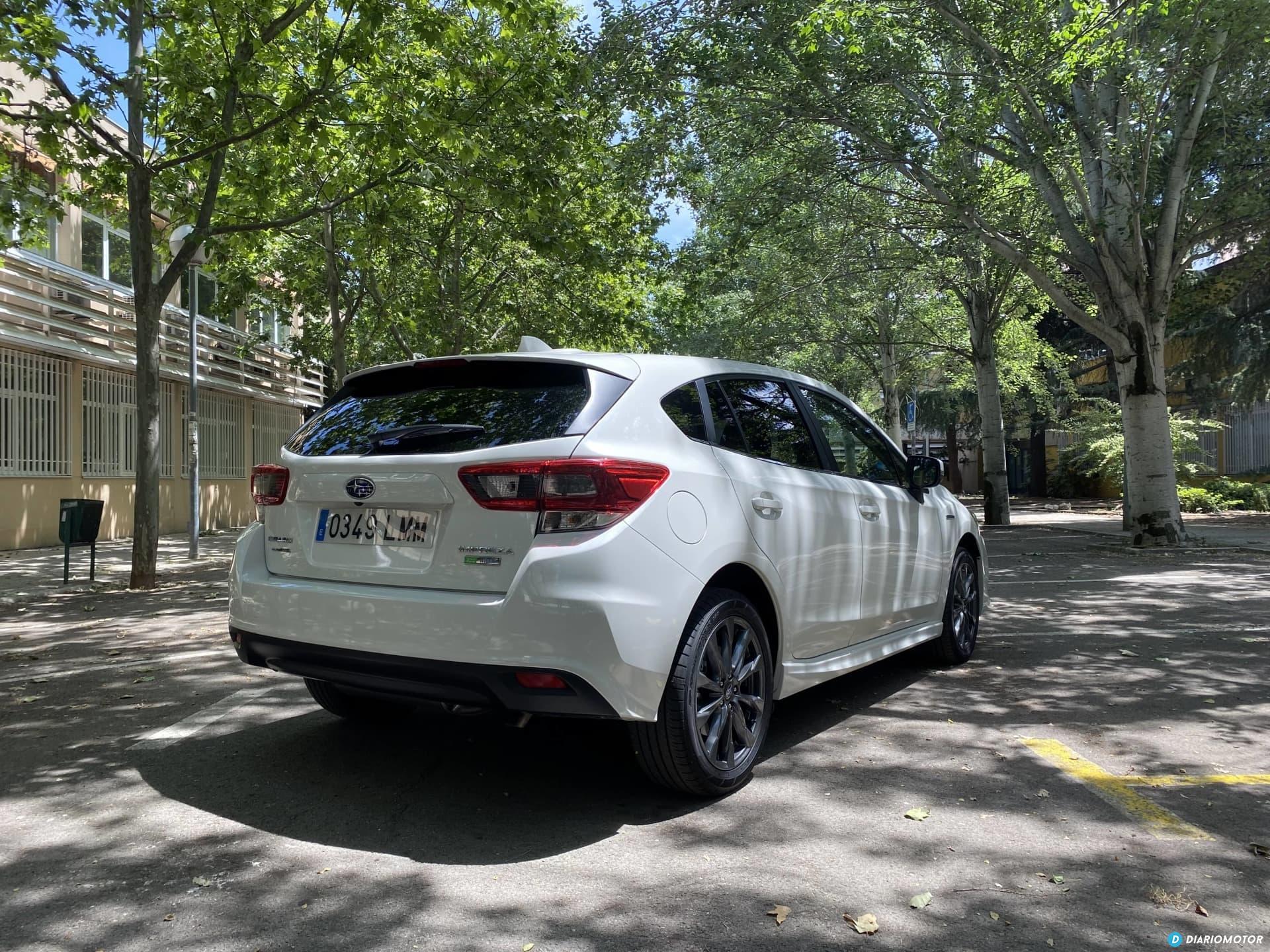 Subaru Impreza Eco Hybrid 2021 Prueba  02