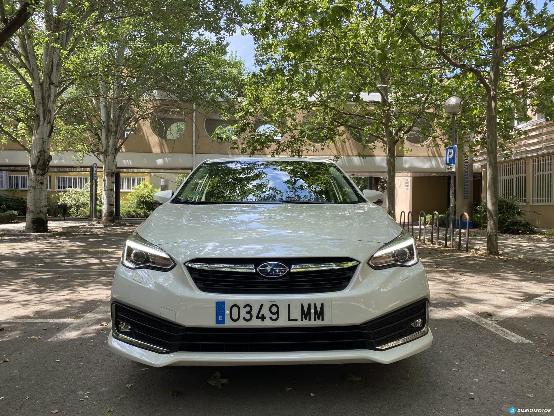 Subaru Impreza Eco Hybrid 2021 Prueba  03