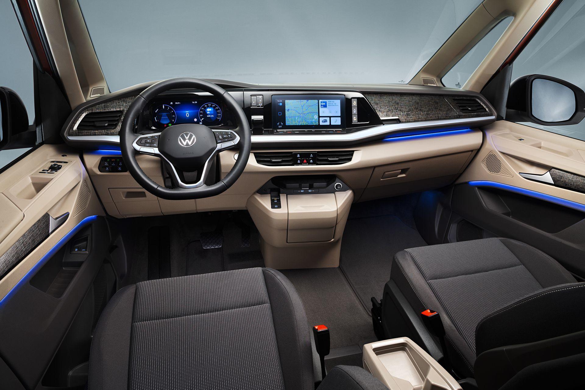 Volkswagen Multivan 2021 Interior 5