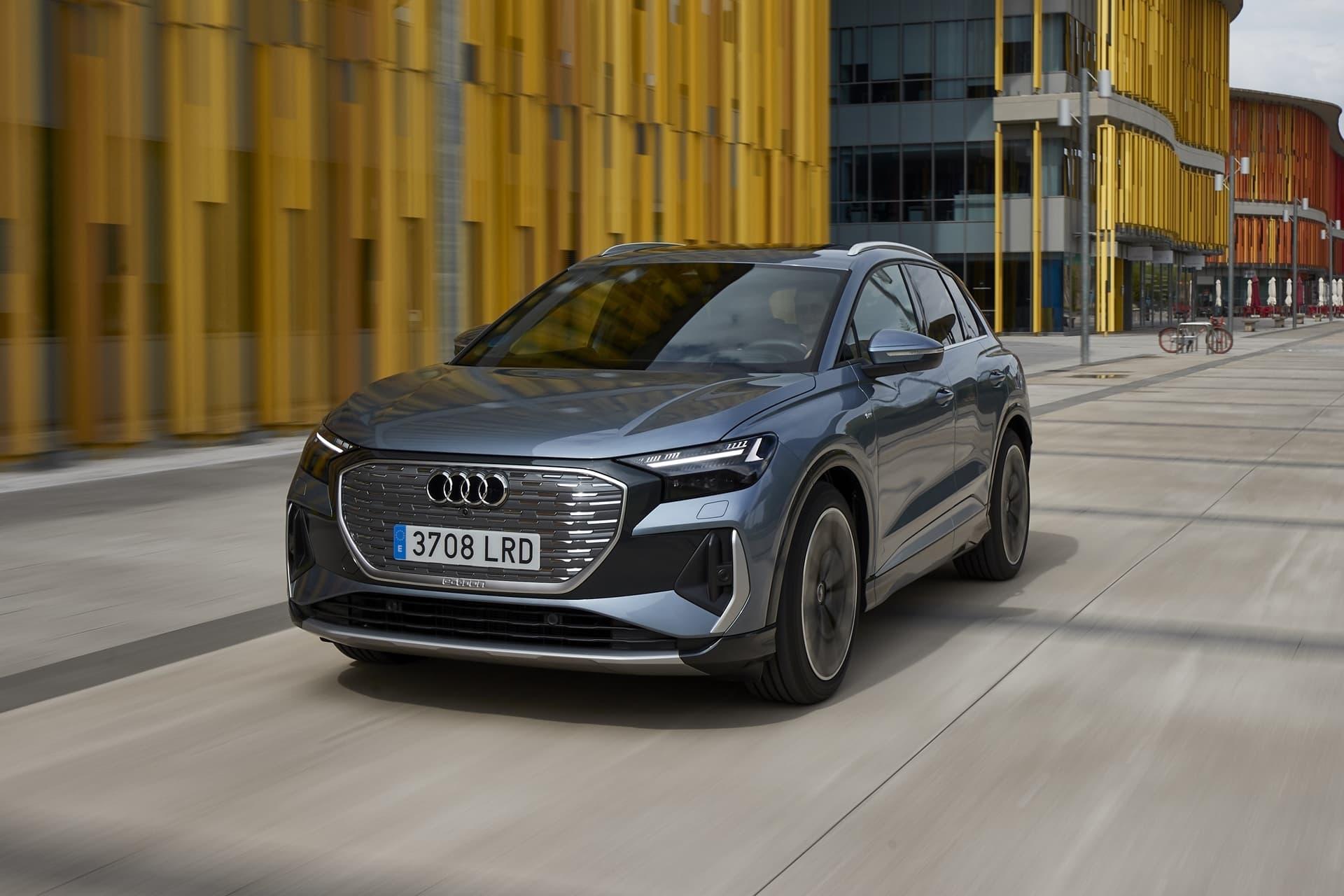 Audi Q4 E Tron 2021 0721 020