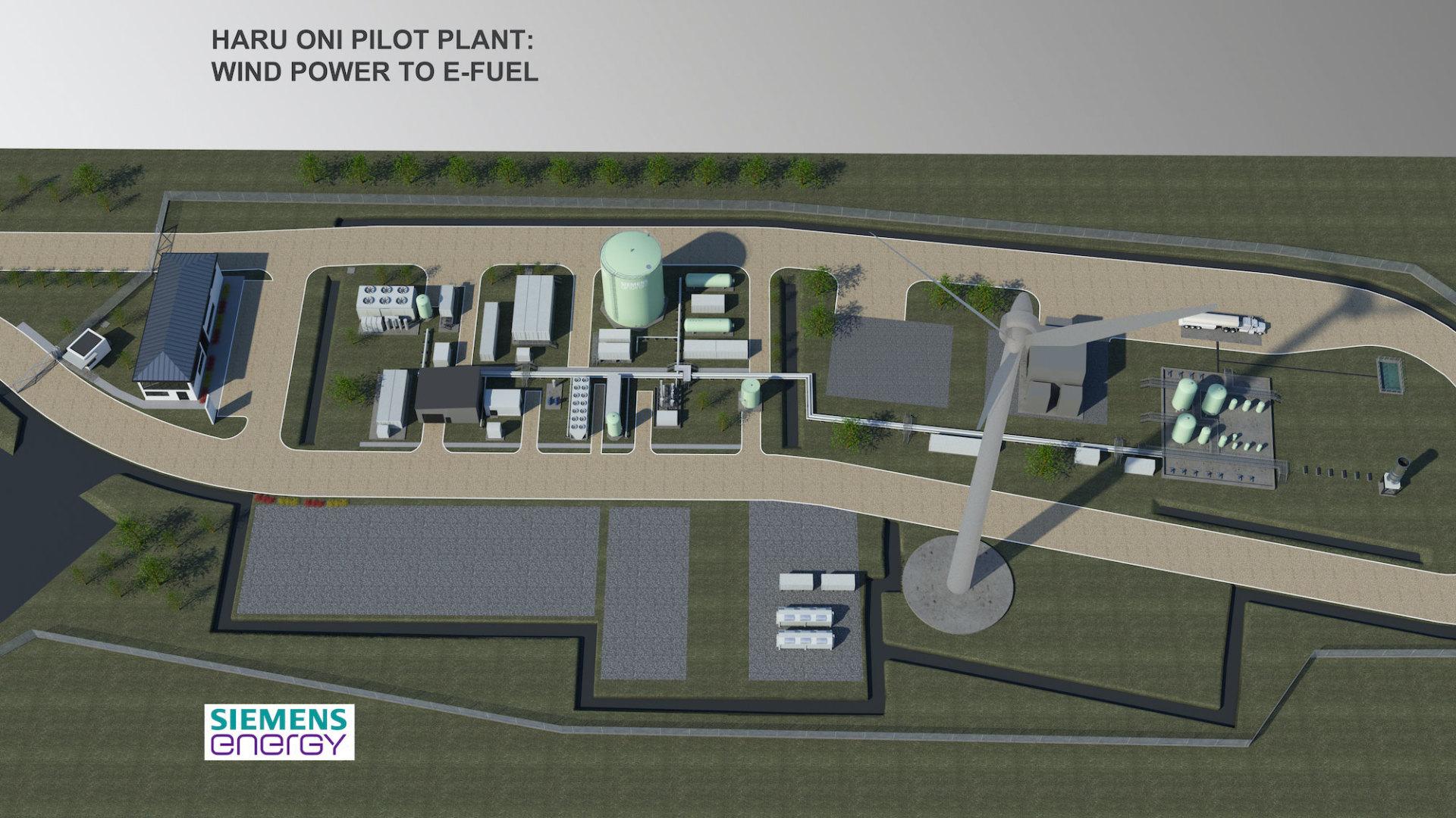 Fabrica Combustible Sintetico Porsche Siemens Haru Oni