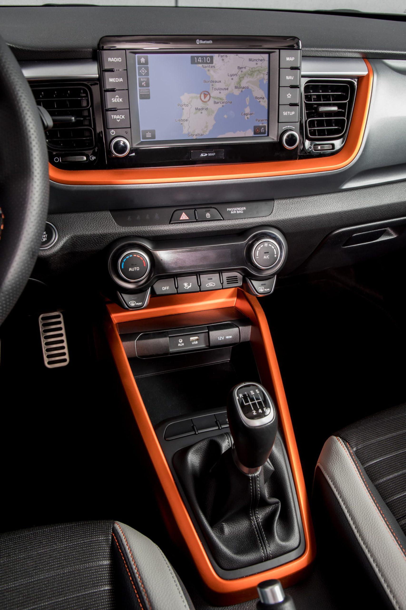 Kia Stonic Oferta Julio 2021 05 Interior Consola Central