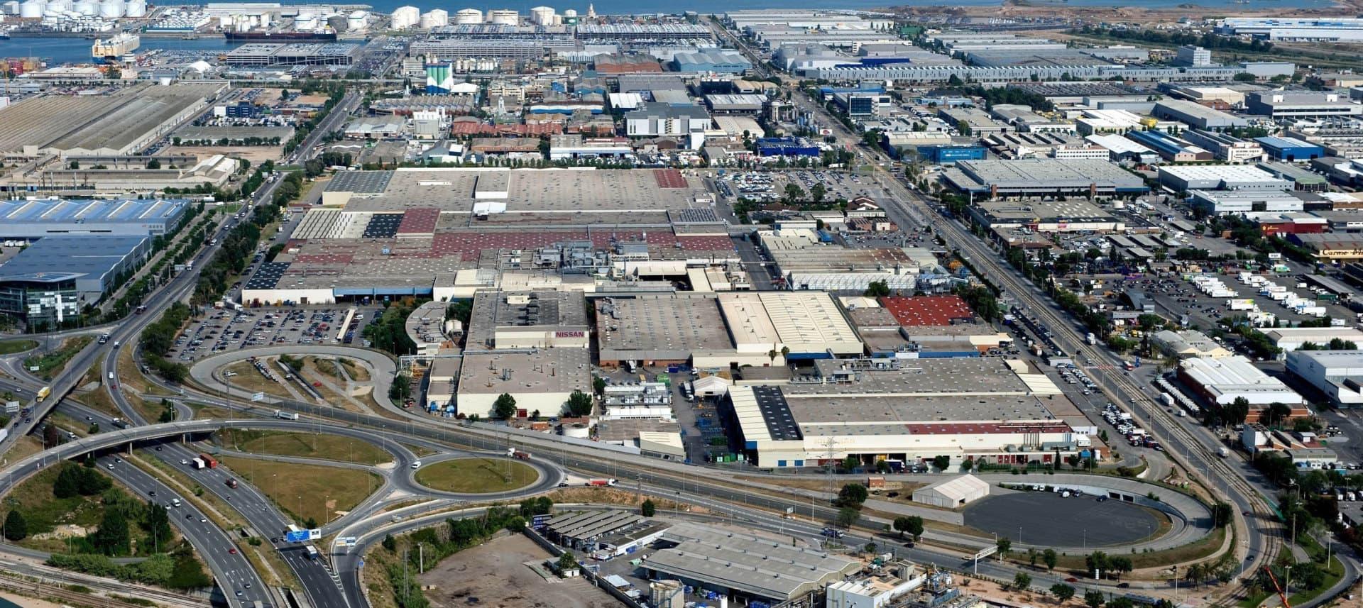 Nissan Fabrica Zona Franca Vista Aerea