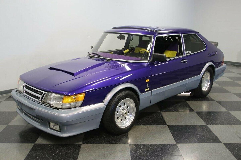 Saab 900 Motor V8 5