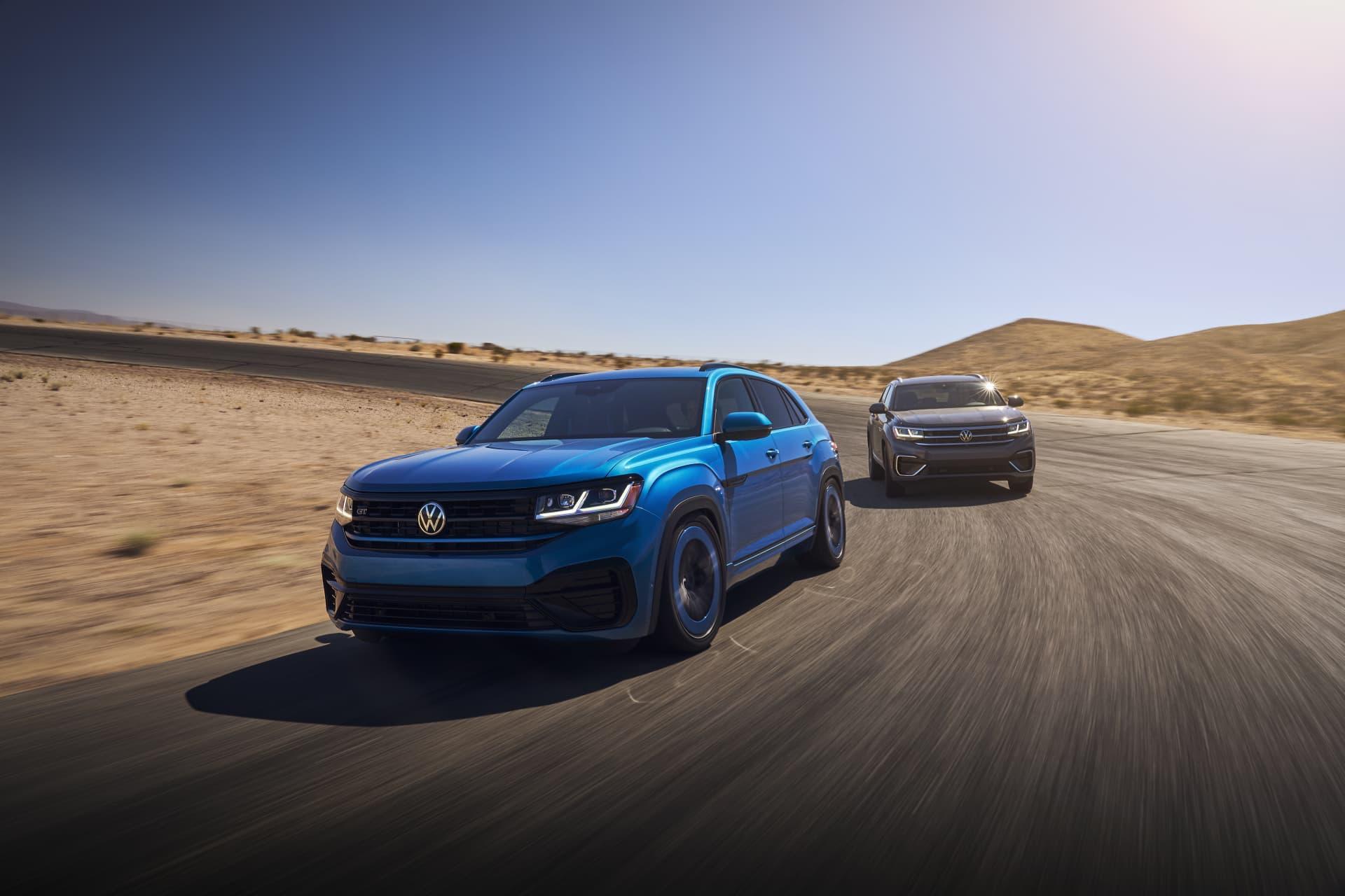 Volkswagen Atlas Cross Sport Gt Concept 0721 02 Exterior