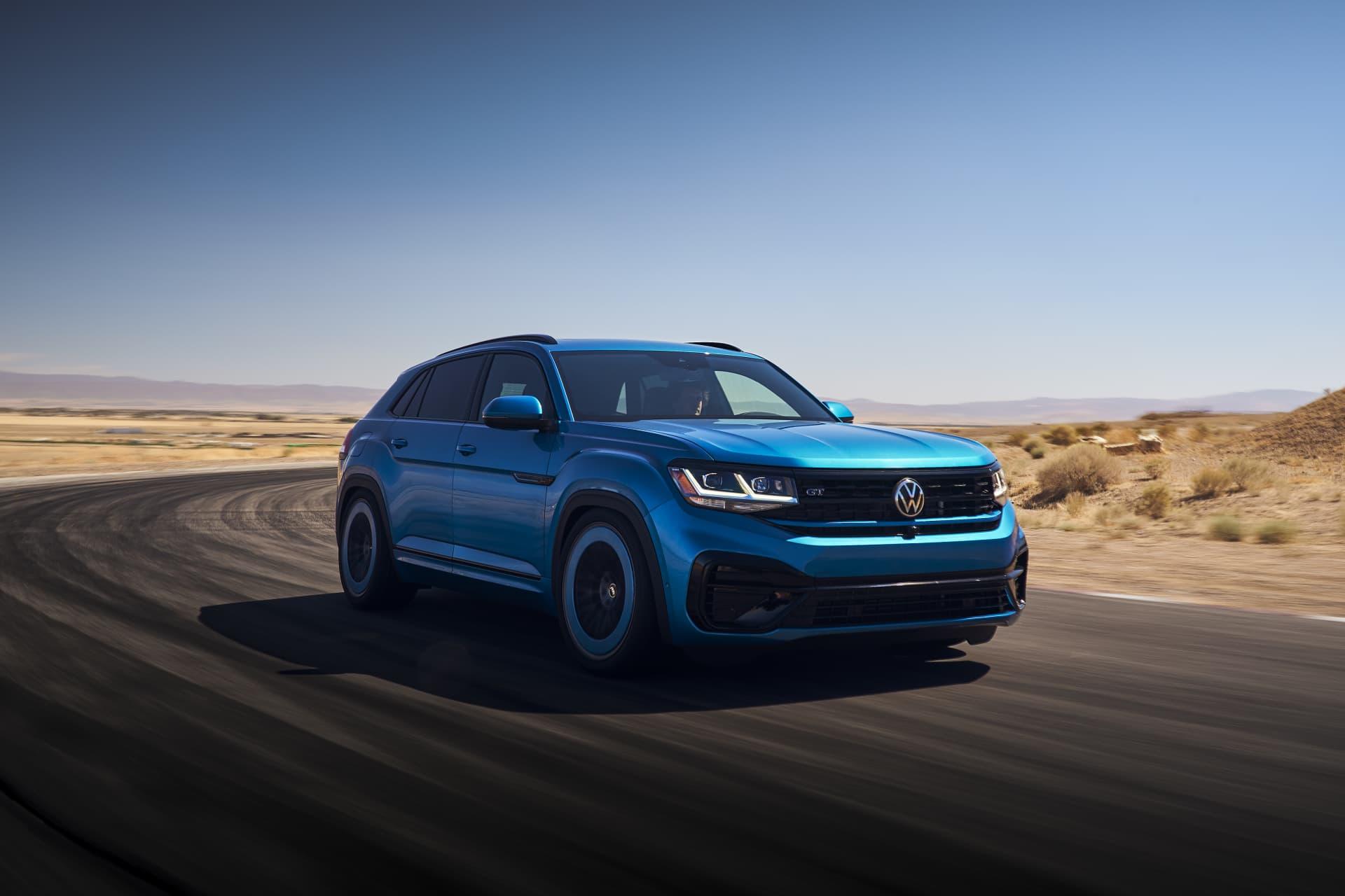 Volkswagen Atlas Cross Sport Gt Concept 0721 05 Exterior