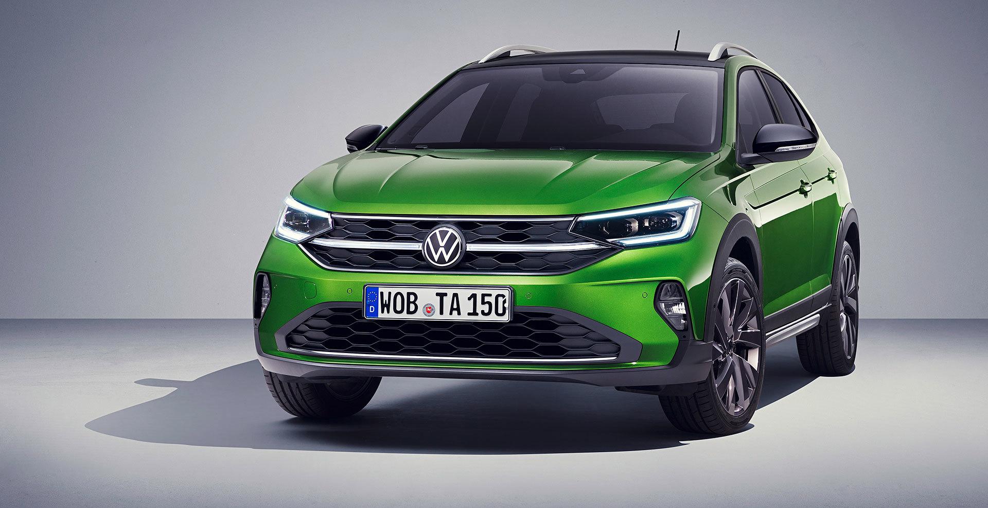Volkswagen Taigo 2022 Frontal Verde Visual Green 01