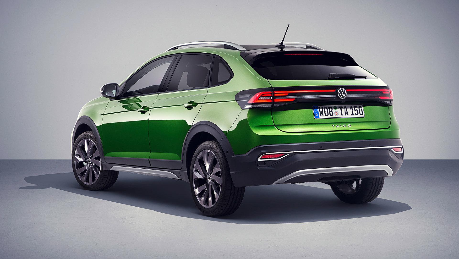 Volkswagen Taigo 2022 Trasera Verde Visual Green 02