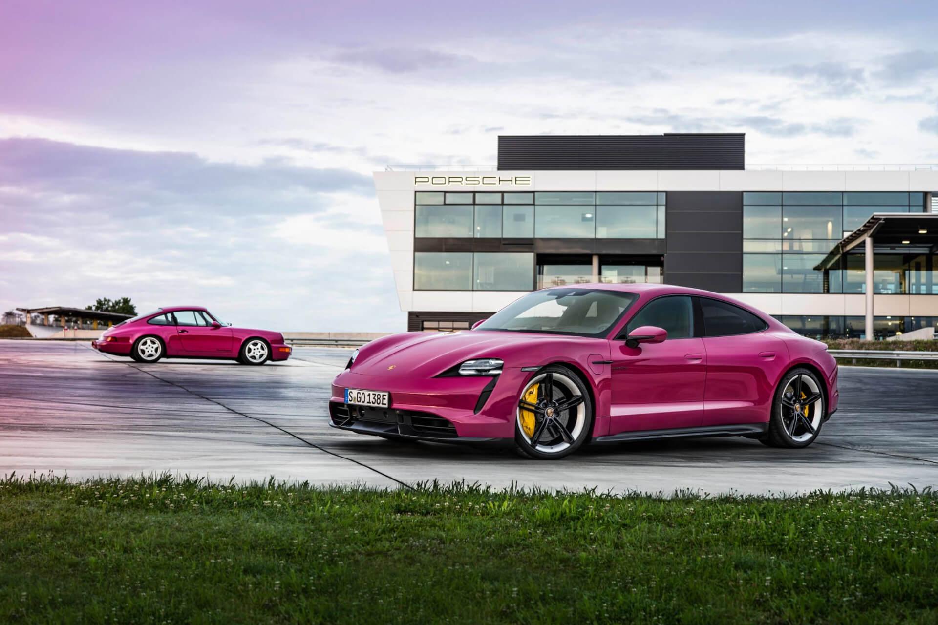 Porsche Taycan Actualizacion 2021  02