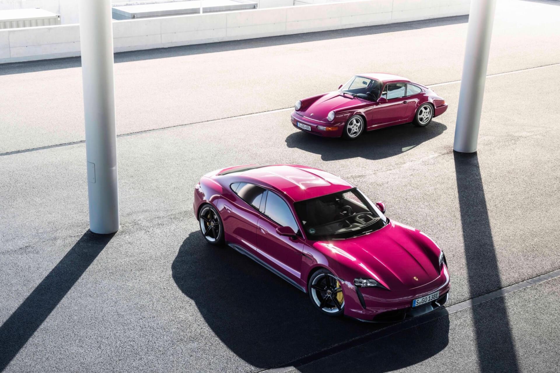 Porsche Taycan Actualizacion 2021  03
