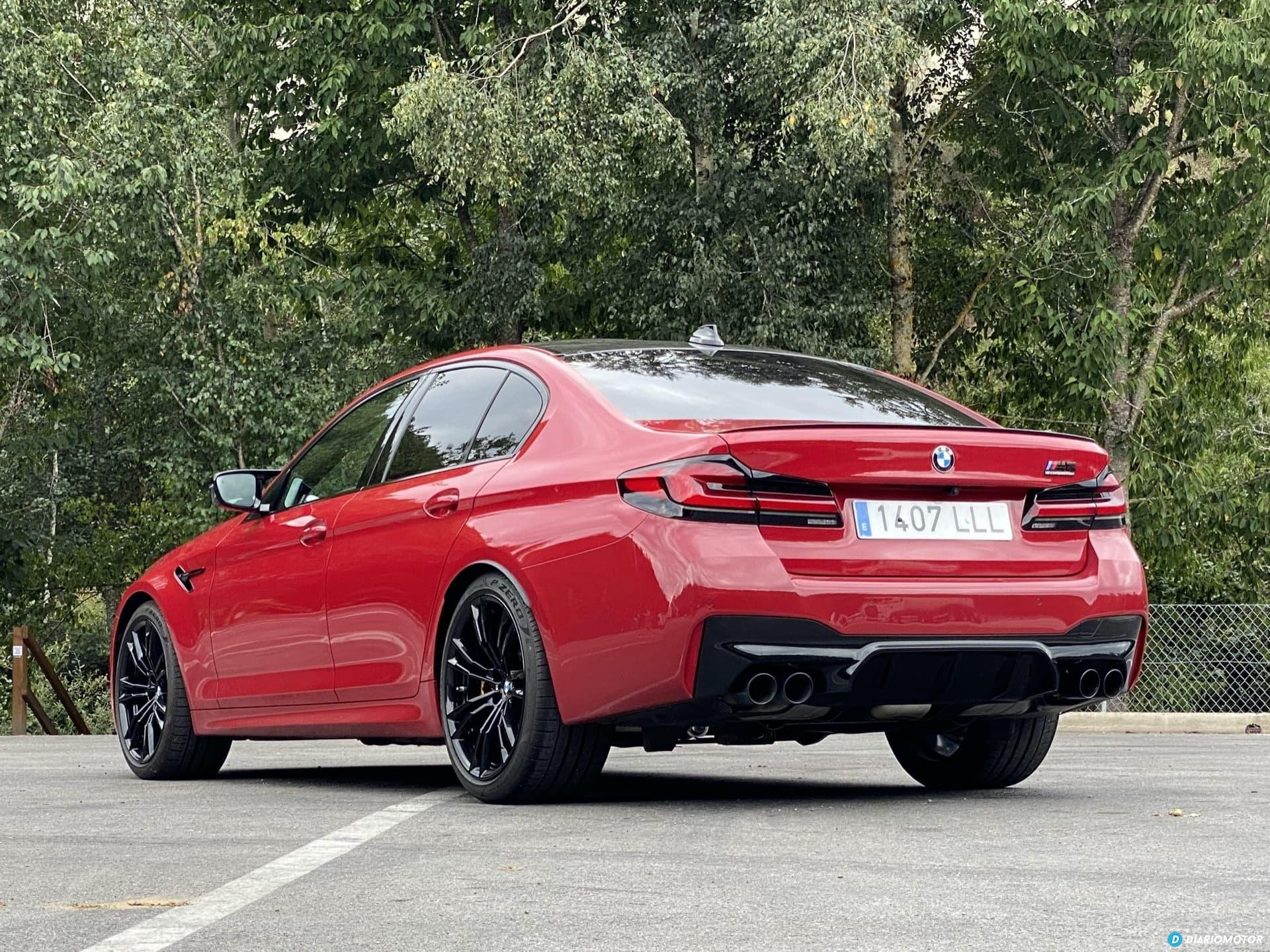 Bmw M5 Competition Trasera 3 4