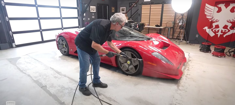 Ferrari P45 Detallado