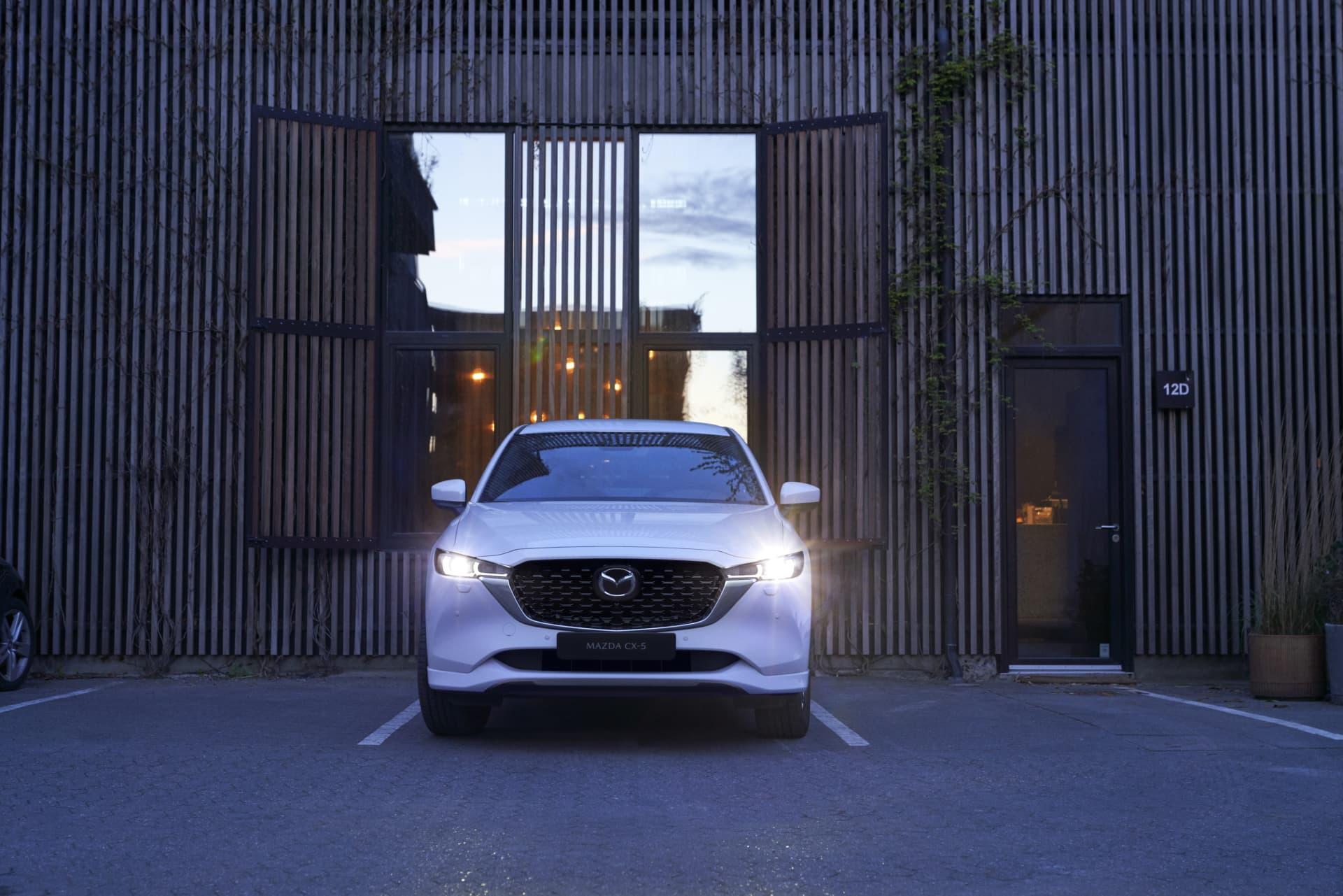 Mazda Cx5 2022 Blanco 02