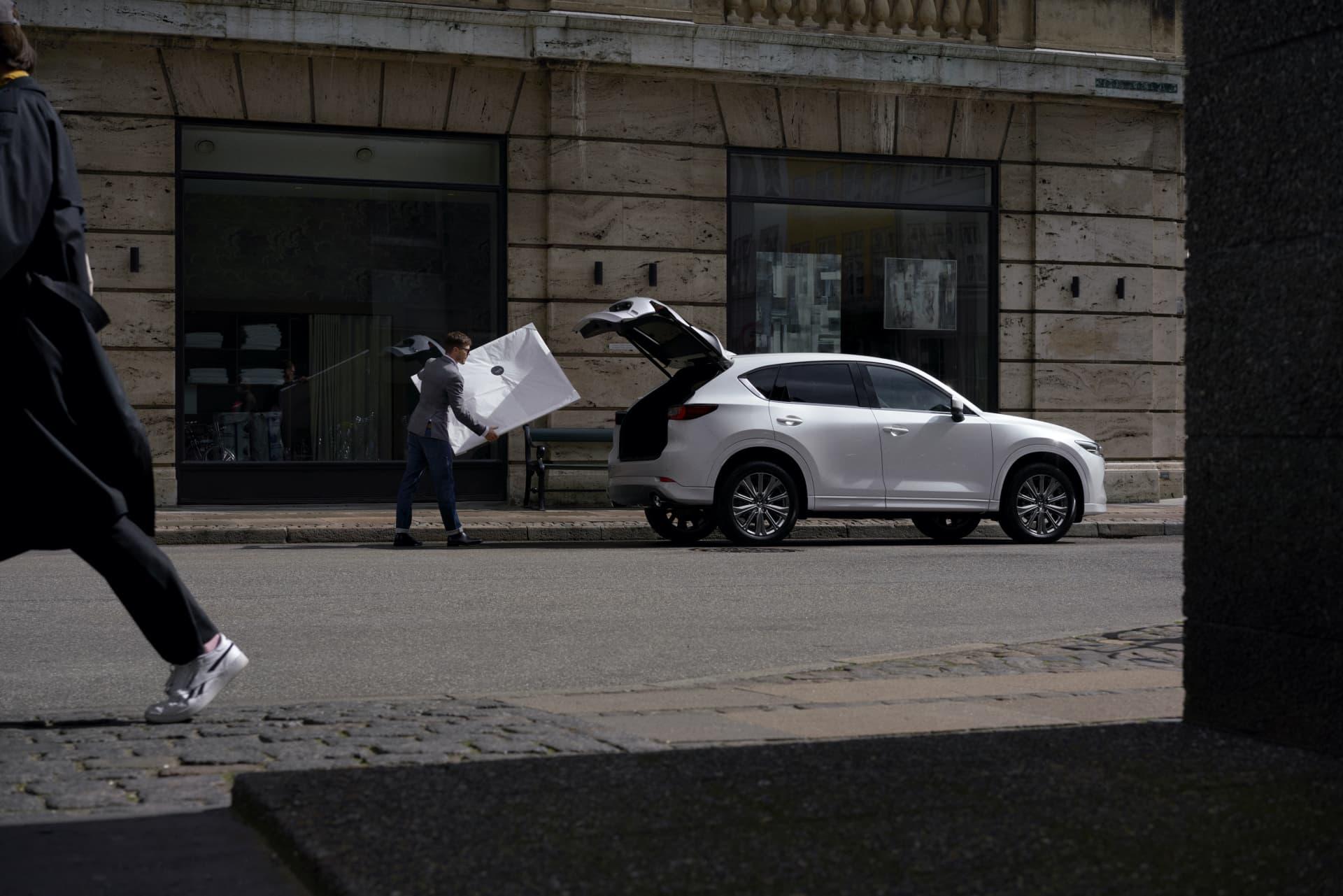 Mazda Cx5 2022 Blanco 06