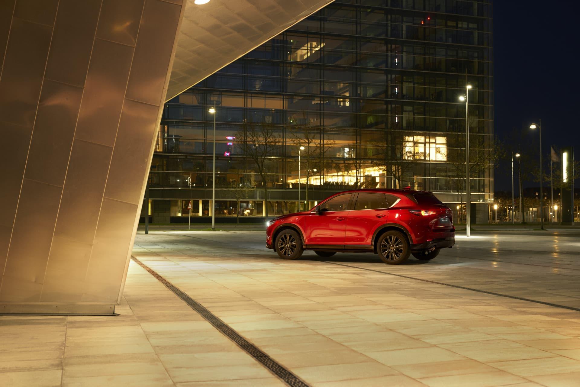 Mazda Cx5 2022 Soul Red 08