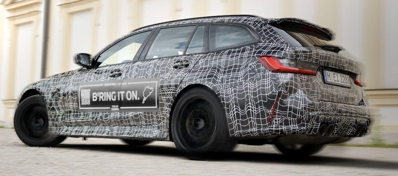 Bmw M3 Touring 2022 Teaser