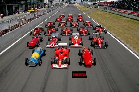 Coleccion de Ferraris de competición Maranello