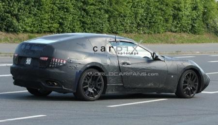 Maserati Spyder fotos espía y recreación