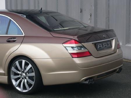 Mercedes Clase S bitono por ART Tuning