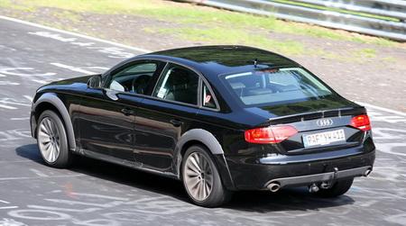 Imágenes espía del Audi A4 Allroad
