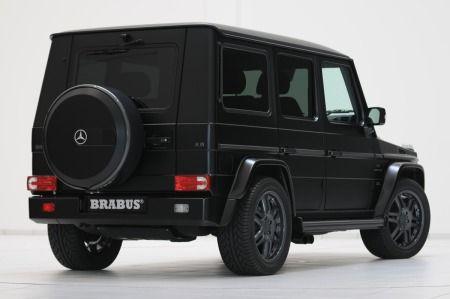 El Mercedes Clase G más amenazador: Brabus G-K8