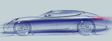 Porsche Panamera, primera imagen teaser oficial