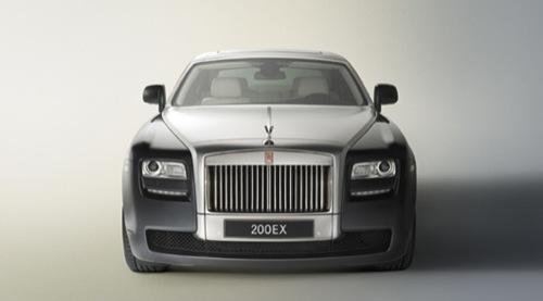 Rolls-Royce 200EX, adelanto del Ghost