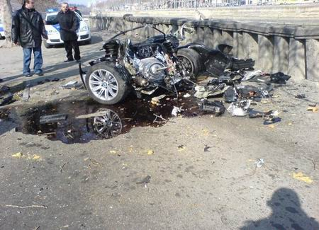 Espeluznante accidente de un BMW Serie 6