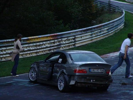 Accidente M3 CSL Nürburgring