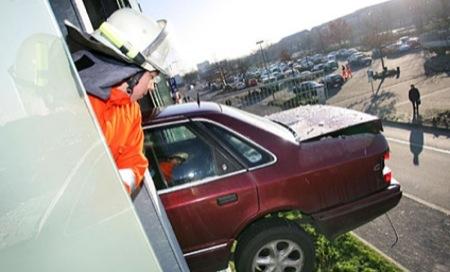 Los accidentes de coche más curiosos e insólitos del mundo