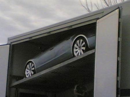 Curiosas fotos espía del Alfa Romeo 169