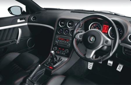 Alfa Romeo Brera S para el Reino Unido
