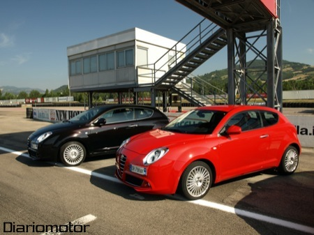 Alfa Romeo Mi.To, en el circuito Varano d' Melegari