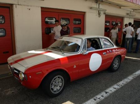 Alfa Romeo Mi.To, en el circuito Varano de Melegari