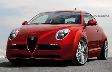 Recreación del Alfa Mi.To GTA
