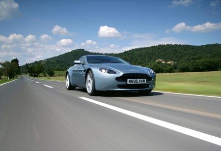 Aston Martin V8 Vantage 2009