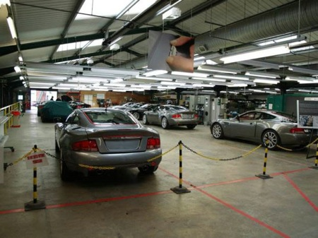 Galería de imágenes de la fábrica de Aston Martin