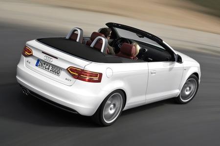 Fotos oficiales del Audi A3 Cabriolet 2008