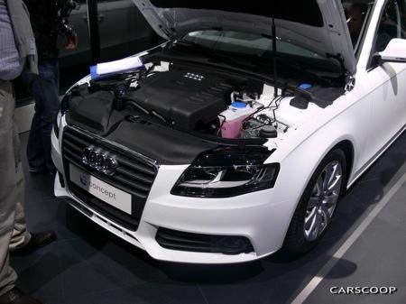 Audi A4 E Concept, modelo ecológico en Frankfurt