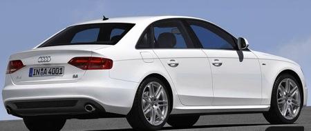 Primeras imágenes de la S-Line del Audi A4 2008